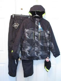 NEW ZEROXPOSUR WINTER JACKET COAT VERTICAL SNOW PANTS HAT SN