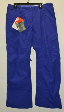 North Face Women's Freedom Insulated Pants Snow Ski Lapis Bl