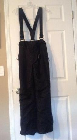 NWOT Trespass Ski Snow Pants Youth Boys/Girls SZ 14 Black