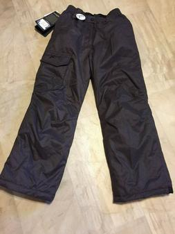 NWT Big Boys ZeroXposur Snow Pants Dark Gray Heather MSRP$60