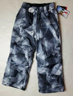 NWT Boy Girl ZeroXPosur Cold Weather Rated Black Gray Ski Li