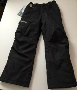 NWT Boys ZeroXposur Black Medium 10/12 Snow Pants #2