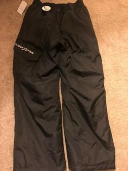 NWT CHEROKEE Youth Gray Insulated Snow Pants-Small /& X-Small-Water Resistant