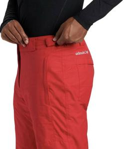 NWT Columbia Bugaboo IV RED Waterproof Ski Snow Pants Men'