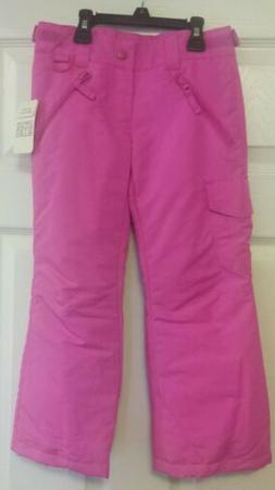 NWT Girls Pink Snow Ski Pants size 4/5 Canyon River Blues