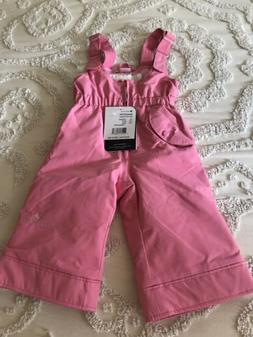 NWT OBERMEYER I-Grow SNOW BIB Kids TODDLER Size 1  Ski Snow