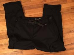 NWT BC Clothing Men's Black Lined Winter Work Snow Cargo Pan
