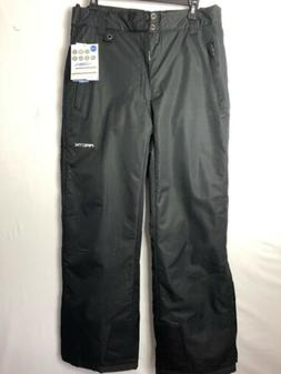 NWT Arctix Men's Full Side Zip Insulated SNOW Pants BLACK ME