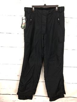 NWT Mambosok Men's Size Large Black Ridge Cargo Snow Pants R
