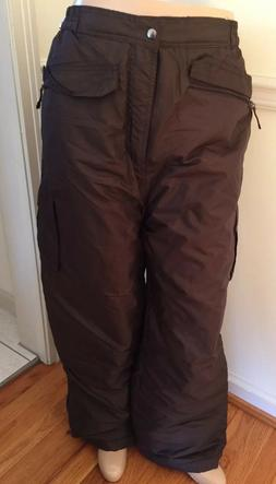 NWT Men's IXtreme Ski Pant Lined Snow Insulated Pants Large