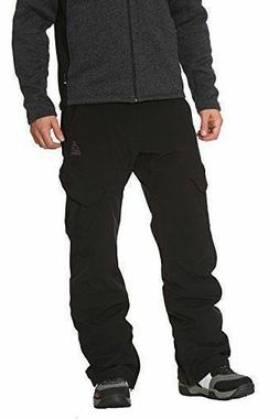 NWT~ Gerry Men's Ski Snow Board Pants Black with 4 Way Stret
