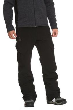 NWT Gerry Men's Snow-tech Pants  Snow Ski Pant , Black Size