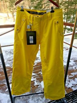 "NWT Oakley Men's XL ""Karn"" Yellow Vents Waterproof Ski Snowb"