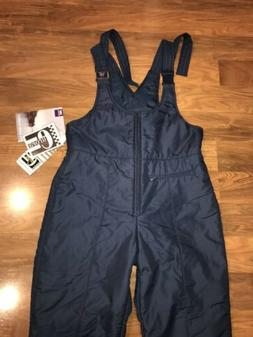 nwt navy apres ski bib pants snow