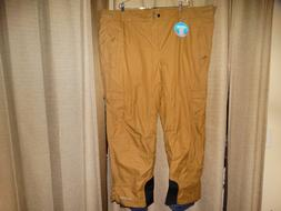 ae72bc7a9df NWT new COLUMBIA mens sz 4X brown snow ski snowboard pants o