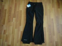 NWT COLUMBIA Omni WindBlock Black Snow, Ski, Pants Women's S