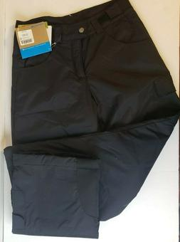 NWT Columbia Snow Pants Girls M  Skiing/Snowboarding Black V