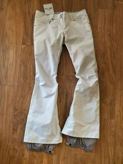 NWT Burton Snow Pants The White Collection Candy Pants Mediu