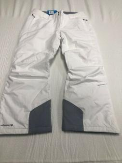 Columbia Omni Heat Bugaboo Pants Women's Size XL / Short Whi