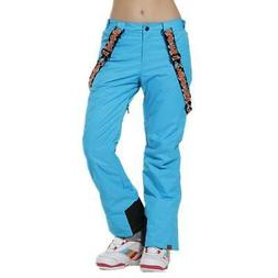 PANTS SNOW Winter Women's Snowboarding Skiing Pants Girls Wa