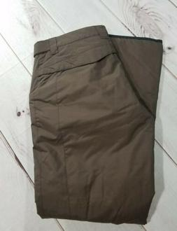 Orage Prime Womens Snow Pants Brown Insulated Ski Snowboard