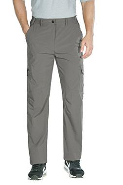 Unitop Men's Quick Dry Lightweight Water Resistant Hiking Ca