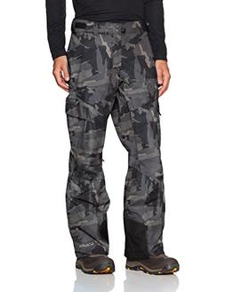 Columbia Men's Ridge 2 Run II Pants, Medium/Short, Black Cam