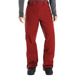 Oakley Mens SKI Shell Pant 15K/ 3L, Red Line, XL