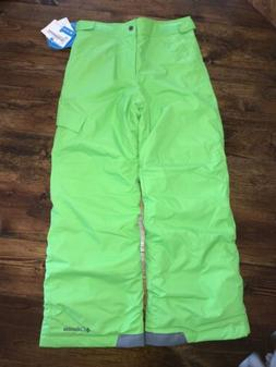 ski snow pants green medium 10 12