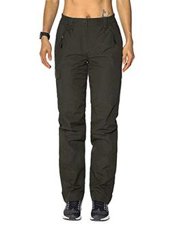 Nonwe Women's Snow Sport Cargo Pants Outdoor Water-Resistant