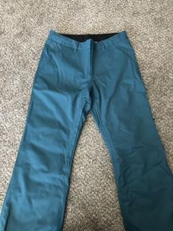 snow chino pants snowboarding skiing green dw3996