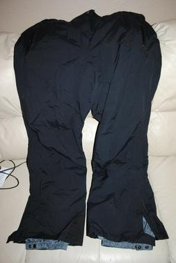 COLUMBIA SNOW PANTS CHILIWACK PANT  2XL XXL BLACK WATERPROOF