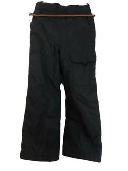 Columbia Snow Pants Insulated Kids Size 10/12Black Excelle