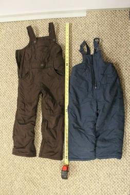 snow pants kids multiple sizes. 2T to 5T 4 pairs REI old nav