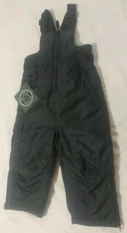 Arctic Quest Snow Pants Overalls 2T Black