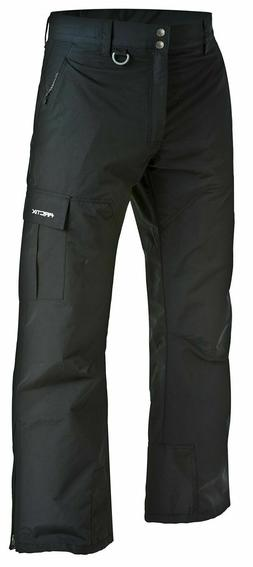 Arctix Men's Premium Snowboard Cargo Pants, Black, Small