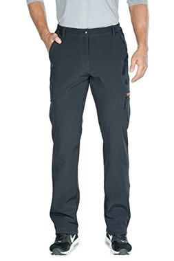 Nonwe Men's Outdoor Softshell Snow Pants Gray 34W X 32L