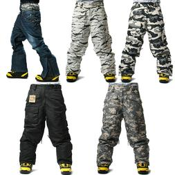 SOUTH PLAY Top Quality Mens Ski Snowboard Waterproof Snow Wi