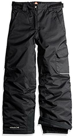 COLUMBIA Sportswear Youth BUGABOO Insulated Snow PANT - Blac