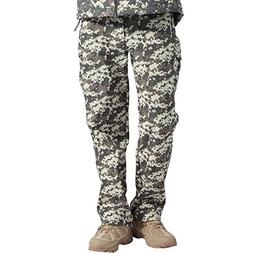 FREE SOLDIER Men's Tactical Pants Fleece Lining Pants for Wi
