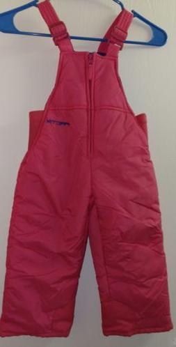 Toddler 2T Girl Snow Bib Pants Snowsuit Ski Overall Arctix