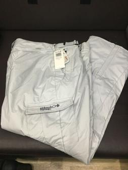 COLUMBIA VERTEX SKI SNOW PANTS INSULATED ADJUSTABLE WAIST GR