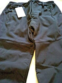 Geval Winter Ski Pants, Black, US x-small , Snow Pants Wind