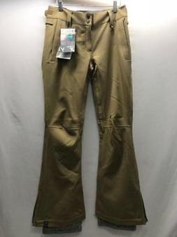 Quiksilver Women Canyon Snowboard Snow Ski Pants Bronze Smal