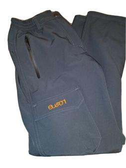 Nonwe Women's Cargo Pants Fleece gray ski snow  Size W26 X 3
