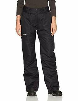 women s insulated snow pant 1x black