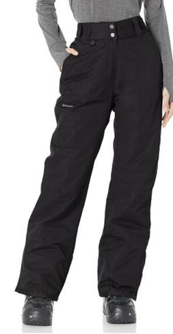 Arctix Women's Insulated Snow Pants, Black, Medium