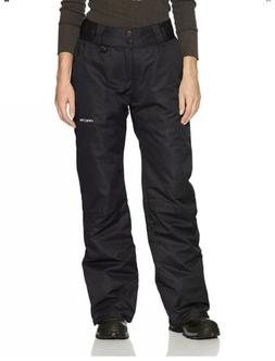 Arctix Women's Insulated Snow Pants, Black, X-Large/Regular