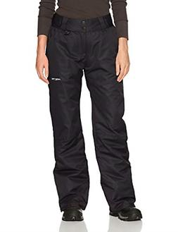 Arctix Women's Insulated Snow Pants, Black, X-Small/Regular