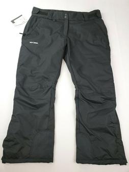 women s insulated snow pants black xl